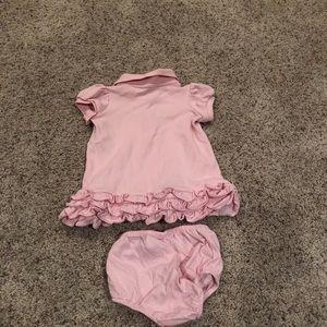 Ralph Lauren pink baby dress